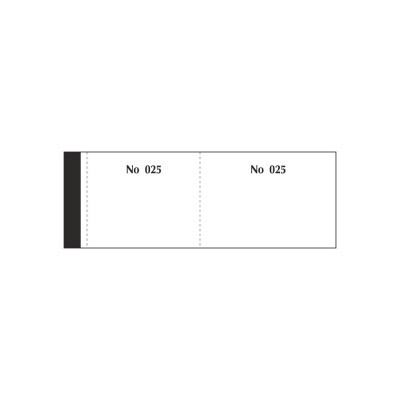 Μπλοκ Λαχνών 1-100 Λευκό