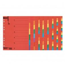 Διαχωριστικά Α4 Χρωματιστά Χάρτινα 24 Θέματα