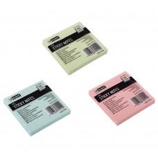 Αυτοκόλλητα Χαρτάκια 76x76mm Pastel D.RECT