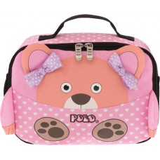 Τσάντα  Φαγητού Νηπιαγωγείου POLO Animal Bear 9-07-123-74 (2019)
