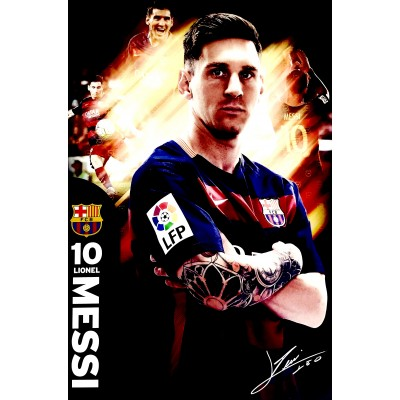 Αφίσα Poster Lionel Messi 60x90cm