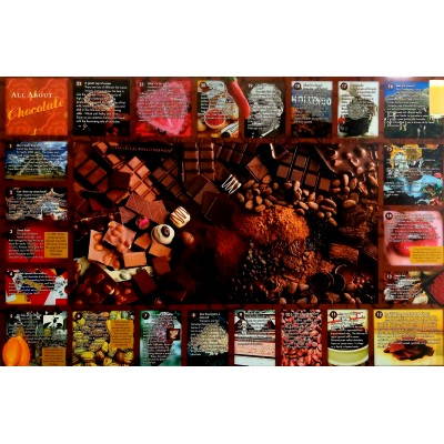 Αφίσα Poster All about chocolate 60x90cm