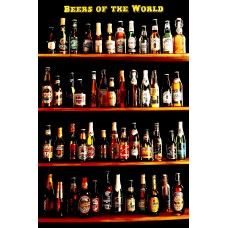 Αφίσα Poster Beers of the world 60x90cm