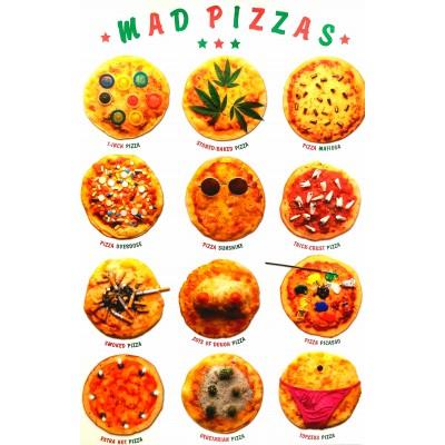 Αφίσα Poster Mad Pizzas 60x90cm
