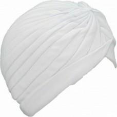 Μαντήλι Τουρμπάνι Μαλλιών Λευκό
