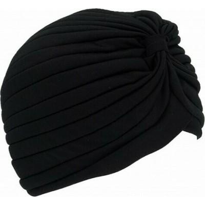 Μαντήλι Τουρμπάνι Μαλλιών Μαύρο