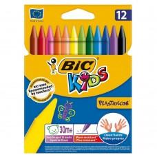 BIC Kids Κηρομπογιές 12 Χρώματα