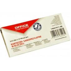 Αυτοκόλλητα Χαρτάκια 51*38mm OFFICE products