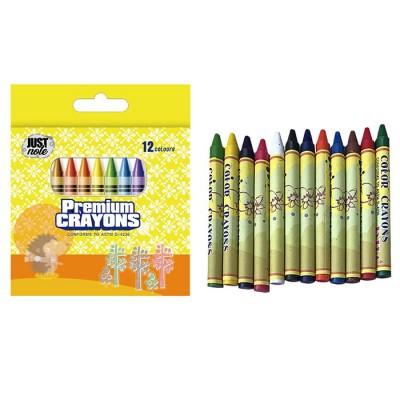 Premium Crayons Κηρομπογιές 12 Χρώματα