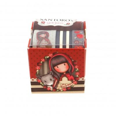 Αυτοκόλλητες Ταινίες Santoro Little Red Riding Hood 699GJ06 (3 Τεμάχια)