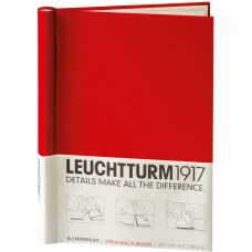 Εξώφυλλο Βιβλιοδεσίας Lechtturm1917 Κόκκινο