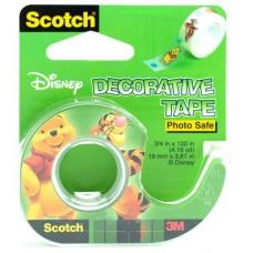 Κολλητική Ταινία Διακοσμητική Winnie the Pooh 3M