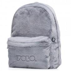 Σακίδιο POLO Mini Fur Limited Edition Γκρι 9-07-168-09 (2020)