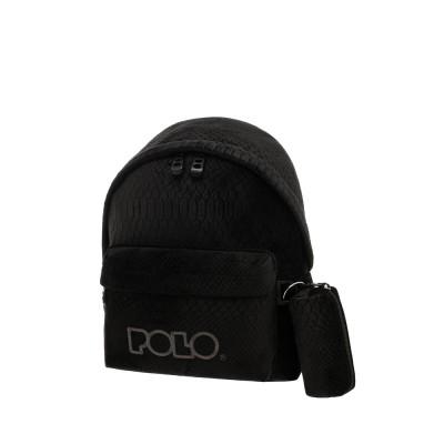 Σακίδιο POLO MINI  Limited Edition Φίδι Μαύρο 9-07-168-2002 (2021)