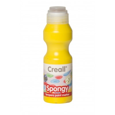 Creall Τέμπερα Spongy 70ml Κίτρινο 02