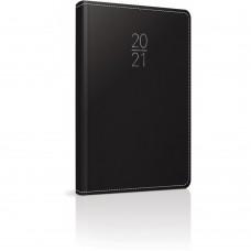 Hμερολόγιο 2021 Ημερήσιο LIVORNO 9x14cm Μαύρο