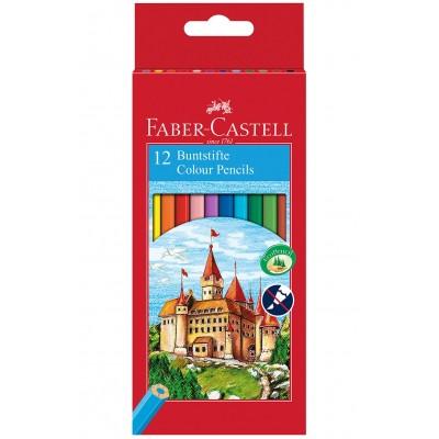 Faber-Castell Ξυλομπογιές 12 Χρώματα