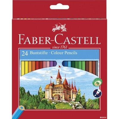 Faber-Castell Ξυλομπογιές 24 Χρώματα