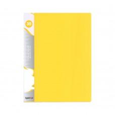 Ντοσιέ (Σουπλ) με 30 Διαφάνειες Κίτρινο