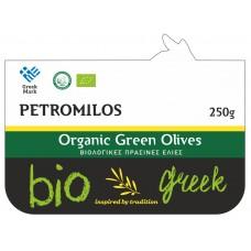 Βιολογικές Πράσινες Ελιές 250g