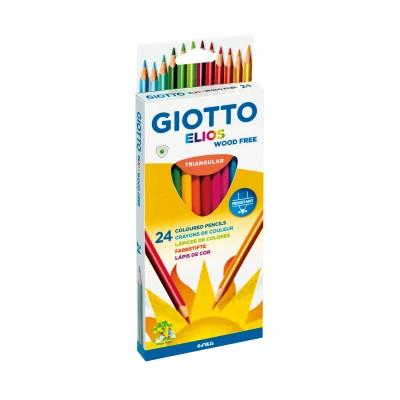 Giotto Ξυλομπογιές Elios 24 Χρώματα