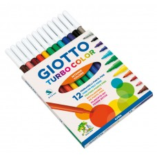 Giotto Μαρκαδόροι Turbo Color 12 τεμ.