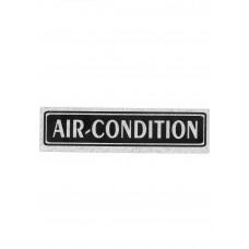 """Πινακίδα Σήμανσης """"Air-Condition"""" 5x20cm"""