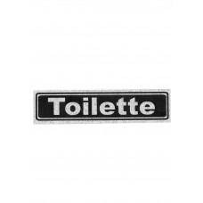 """Πινακίδα Σήμανσης """"Toilette"""" 5x20cm"""