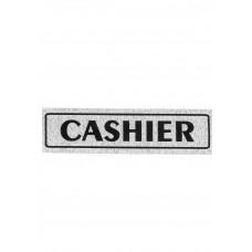 """Πινακίδα Σήμανσης """"Cashier"""" 5x20cm"""
