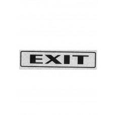 """Πινακίδα Σήμανσης """"Exit"""" 5x20cm"""