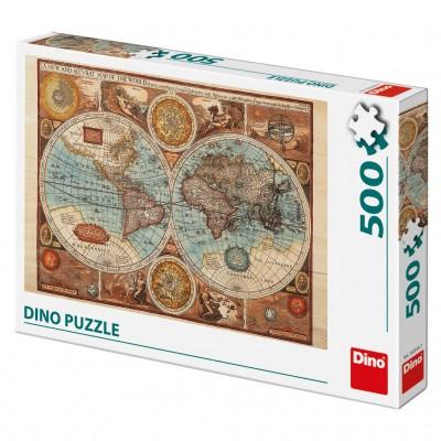 Παζλ Χάρτης του Κόσμου 500 τεμ.