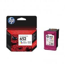 Μελάνι HP 652 Tri-colour
