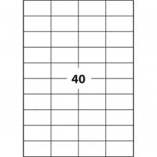 Ετικέτες Εκτύπωσης Α4 (52.5x29.6 mm)