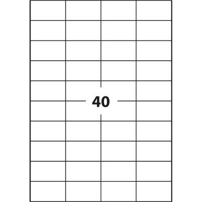 Ετικέτες Εκτύπωσης Α4 (52.5x29.6 mm) 10 τεμ.