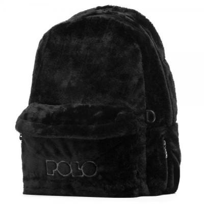 Σακίδιο  POLO Mini Fur  Limited  Edition  Μαύρο 2020 9-07-168-02 (2020)