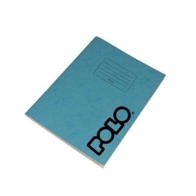 Polo Τετράδιο Ριγέ Β5 17x25 50Φ. Γαλάζιο