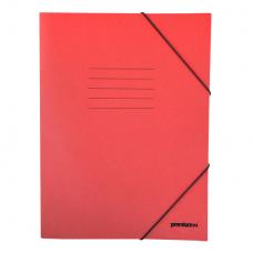 Ντοσιέ με Λάστιχο Πρεσπάν 25x35cm Κόκκινο