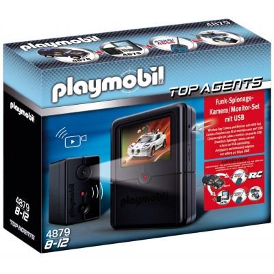 Playmobil 4879 Σετ Κατασκοπευτικής Κάμερας Top Agents