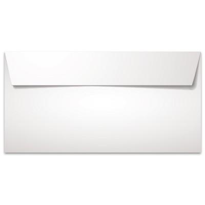 Φάκελος Αλληλογραφίας Λευκός Καρέ 11x23 cm (Συσκευασία 50 τεμαχίων)
