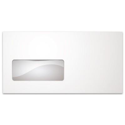 Φάκελος Αλληλογραφίας με Παράθυρο Αριστερά 11 x 23 cm (Συσκευασία 50 τεμαχίων)