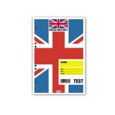 Ανταλλακτικά Φύλλα Κρικ 16x23cm Ριγέ για Test Αγγλικών