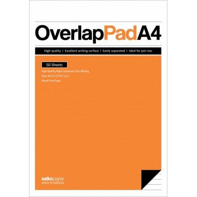 Μπλοκ Σημειώσεων Overlap Ριγέ Α4 50Φ.