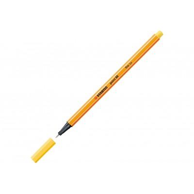 Stabilo Μαρκαδόρος Point 88 Fine 0.4 Κίτρινο