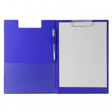 Ντοσιέ Σεμιναρίων Δίφυλλο με Κλιπ Πιάστρα 32x23cm Μπλε