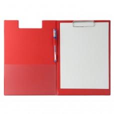 Ντοσιέ Σεμιναρίων Δίφυλλο με Κλιπ Πιάστρα 32x23cm Κόκκινο