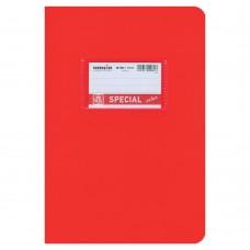 Special Color Τετράδιο Κόκκινο Ριγέ 17x25 50Φ.