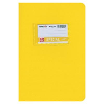 Special Color Τετράδιο Κίτρινο Ριγέ 17x25 50Φ.