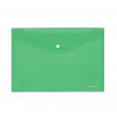 Φάκελος με Κουμπί Πλαστικός Α4 Πράσινος