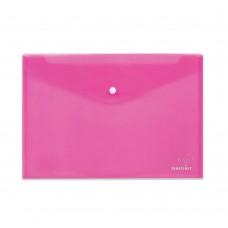 Φάκελος με Κουμπί Πλαστικός Α4 Ροζ