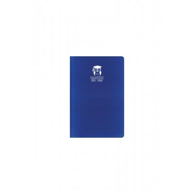 Ακαδημαϊκό Ημερολόγιο 2021-2022 Ημερήσιο Kashmir 14x21 Μπλε